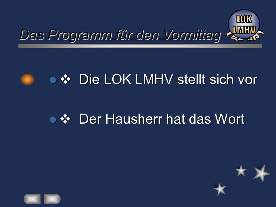 LOK LMHV: Betrieb und Schule LOK LMHV: Betrieb und Schule arbeiten zusammen.
