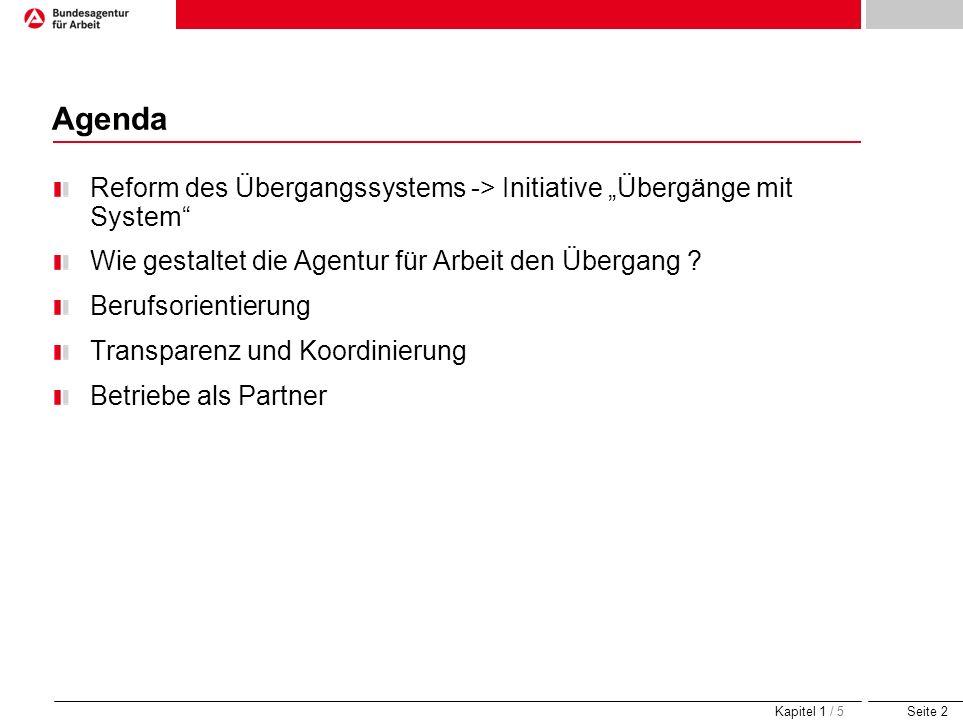 Seite 13 Jugendberufsagentur Hamburg - ein Vorbild.