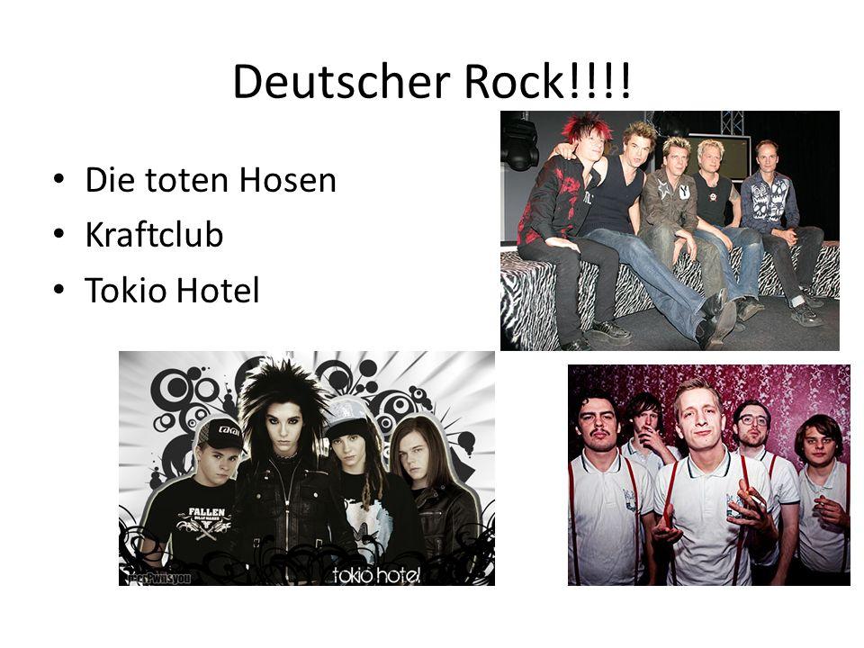 Deutscher Rock!!!! Die toten Hosen Kraftclub Tokio Hotel