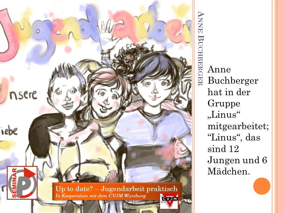 L AURA A MEND Laura Amend hat zwei Wochen lang bei der Ferienmaß- nahme Hüttendorf mitgearbeitet.