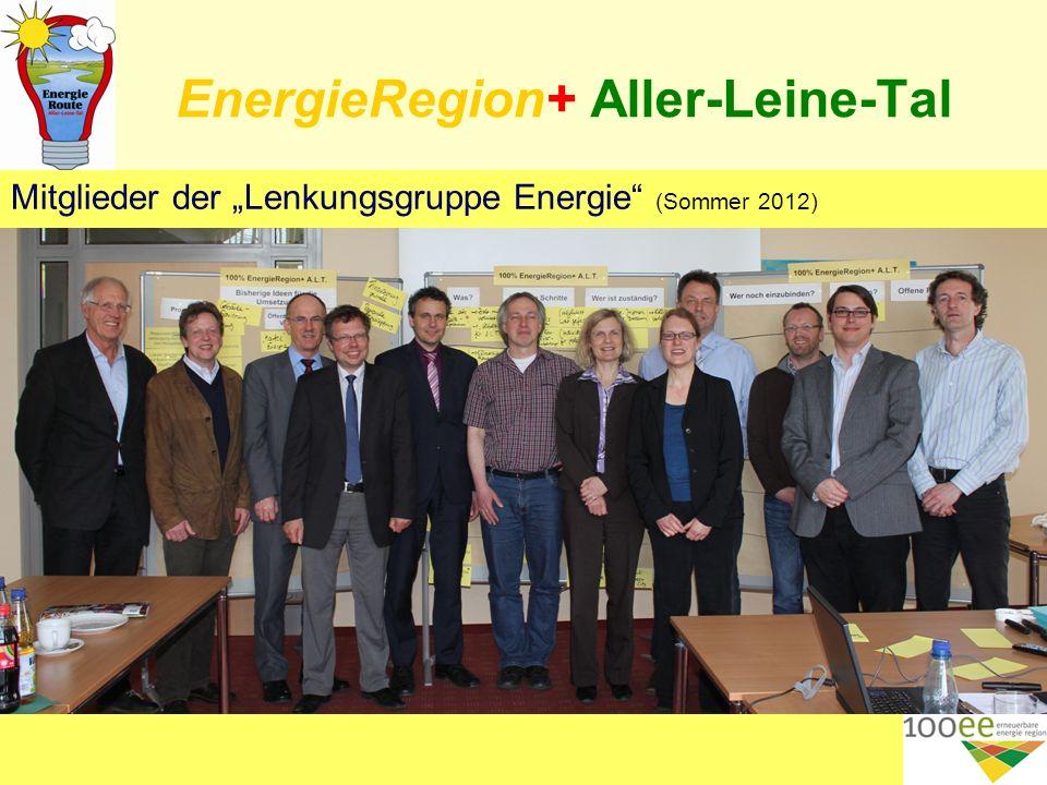 EnergieRegion+ Aller-Leine-Tal Mitglieder der Lenkungsgruppe Energie (Sommer 2012) 11