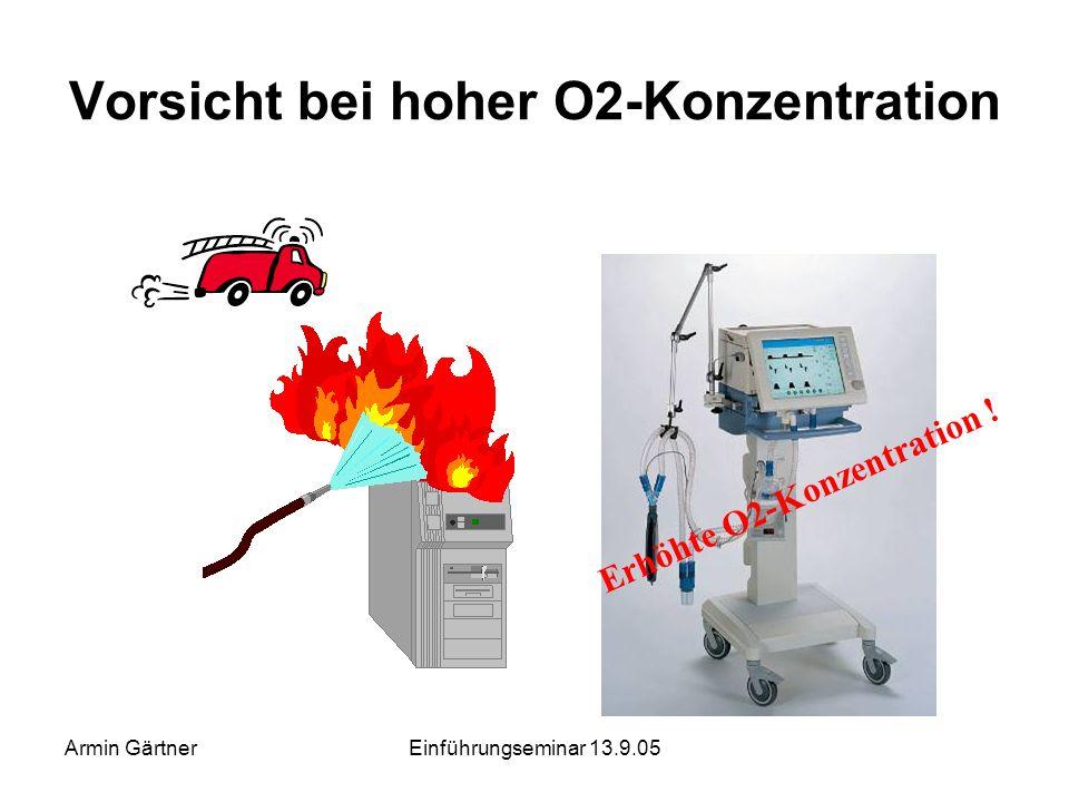 Armin GärtnerEinführungseminar 13.9.05 Trennung Stromversorgung