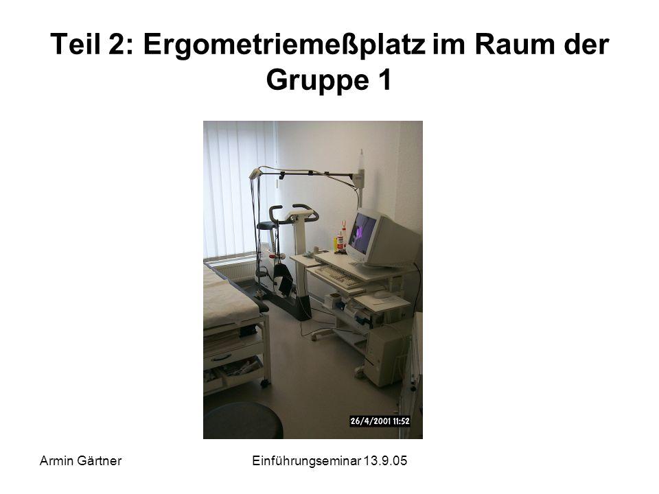 Armin GärtnerEinführungseminar 13.9.05 Teil 2: VDE 0100 Teil 710 Einteilung der medizinisch genutzten Räume in Raumgruppen Raumgruppe 0 Raumgruppe 1 R