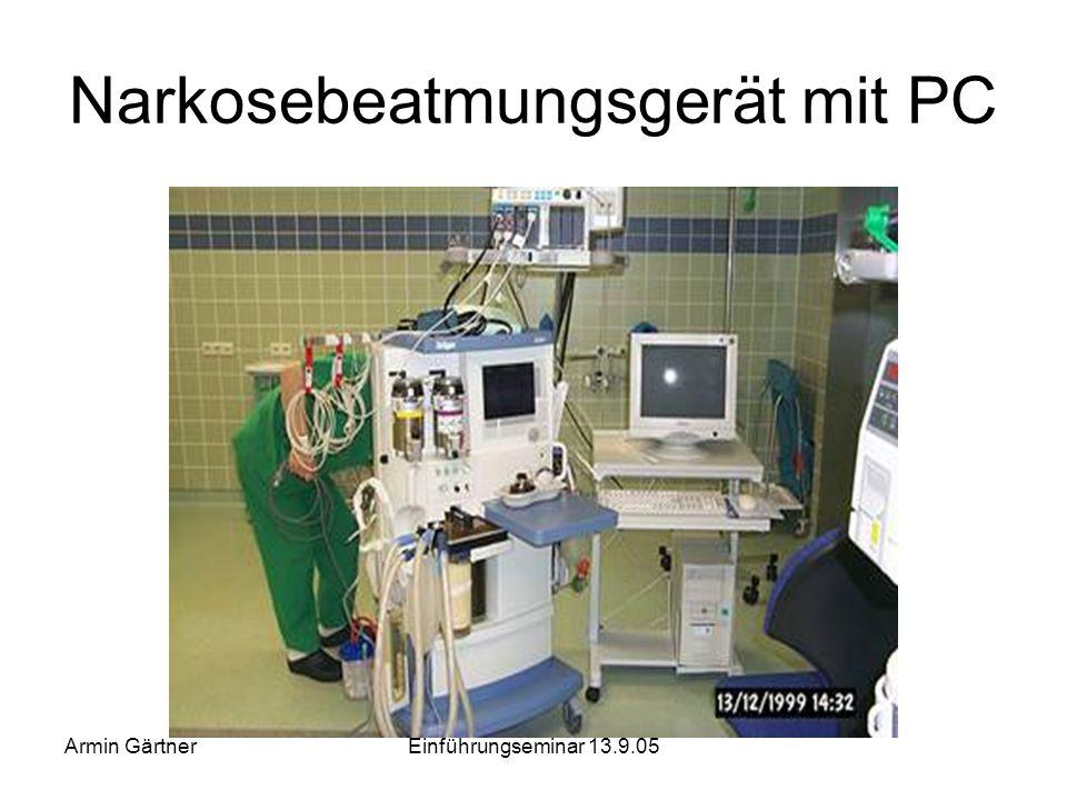 Armin GärtnerEinführungseminar 13.9.05 Teil 2: Räume der Gruppe 2 - Beispiele Operationssäle –Operationsraum –Ein- und Ausleitung –ambulantes Operiere