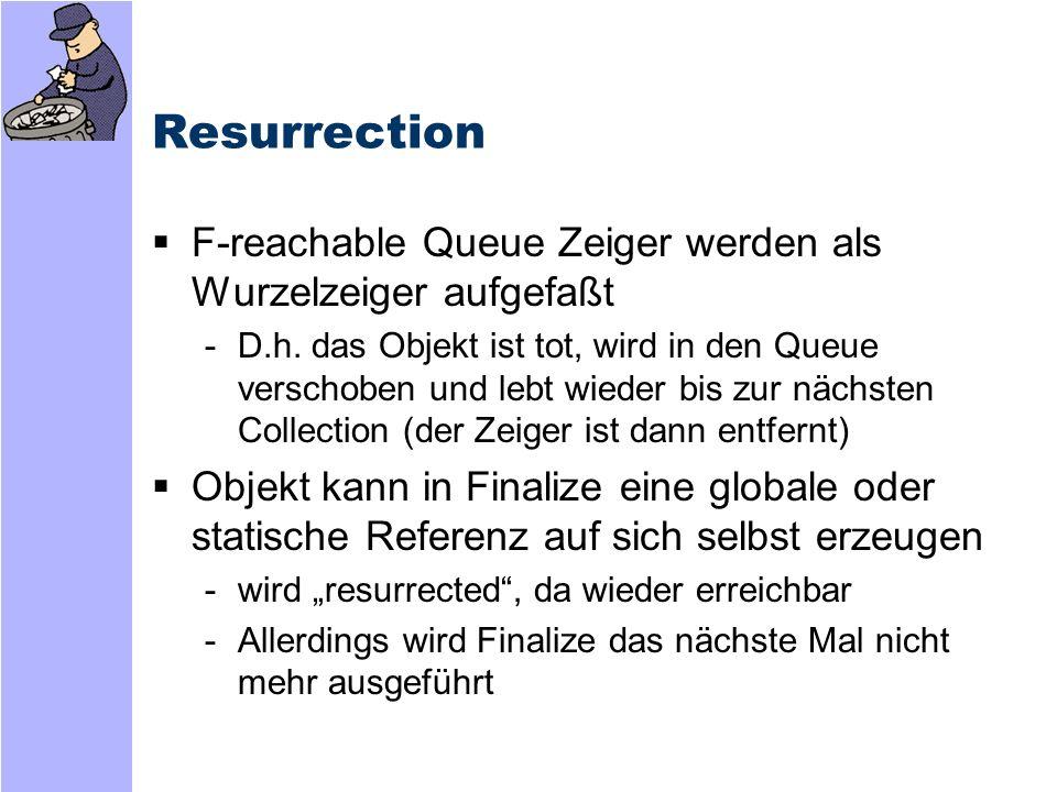 Resurrection Nutzen von Resurrection -z.B.