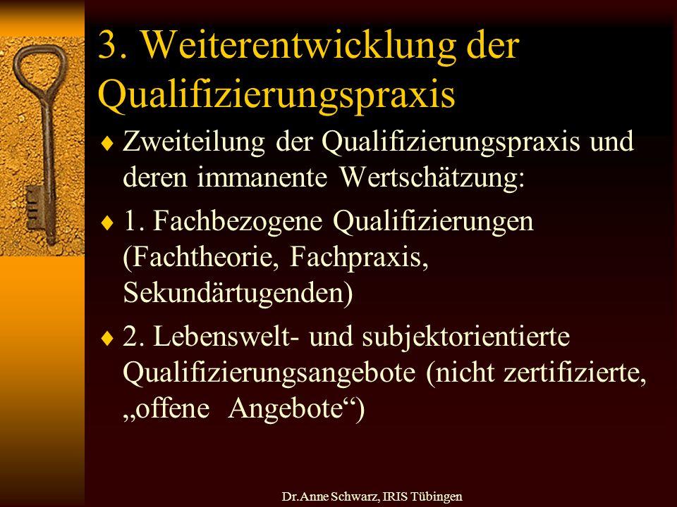 Dr.Anne Schwarz, IRIS Tübingen 3.