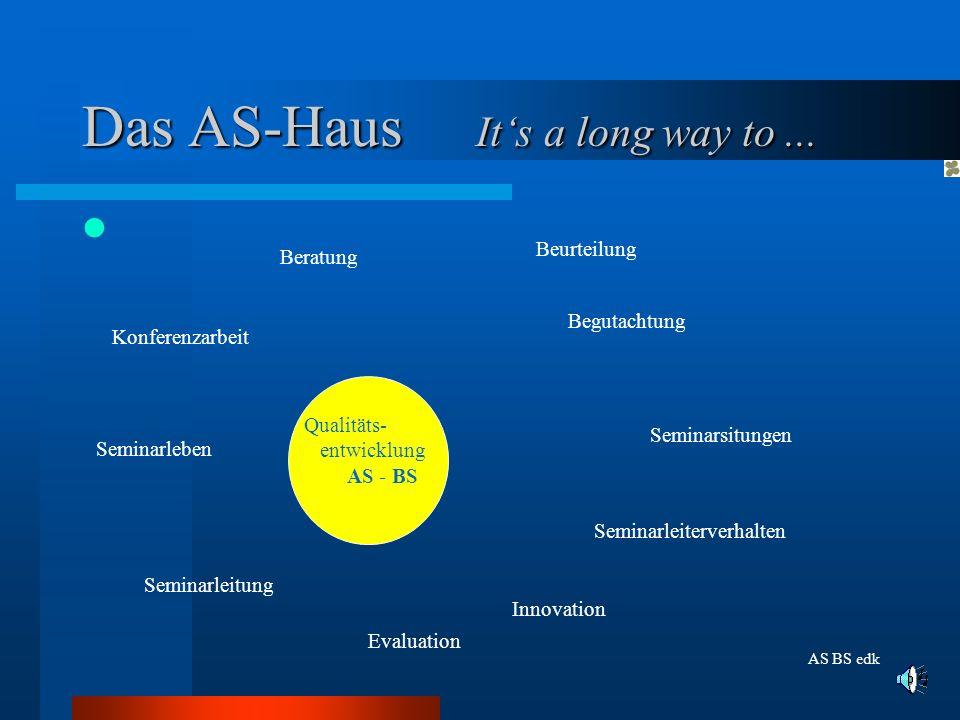 Das AS-Haus Its a long way to...