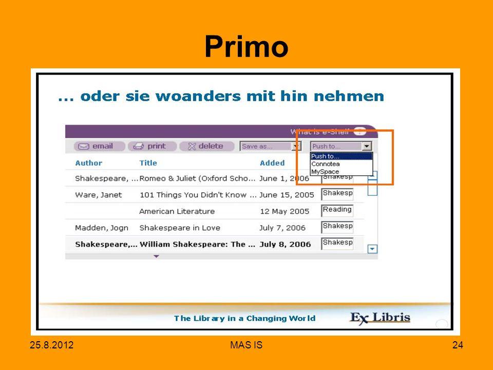 25.8.2012MAS IS24 Primo
