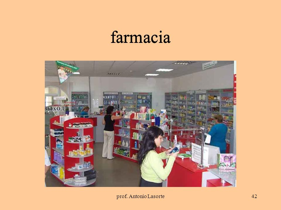 prof. Antonio Lasorte42 farmacia farmacia