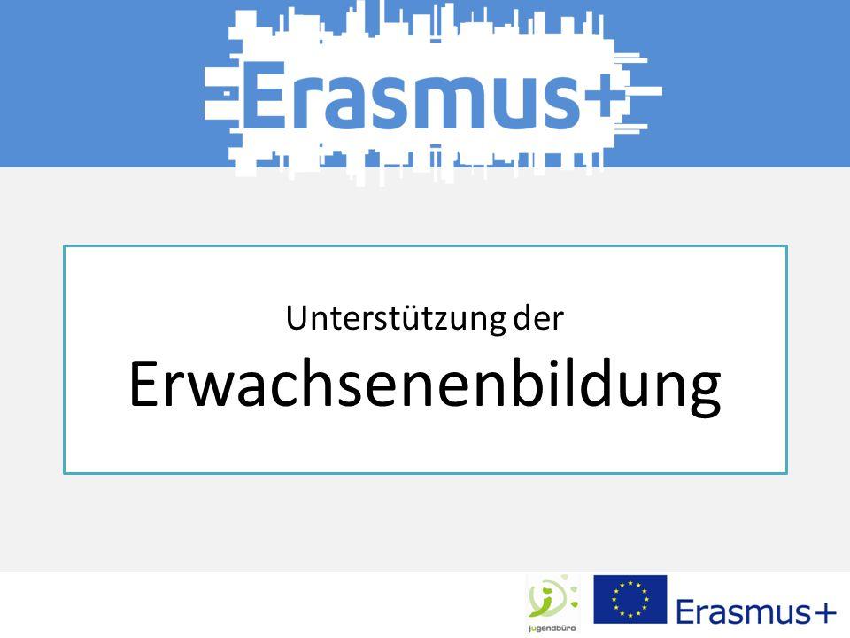 Erasmus+ gibt der Erwachsenenbildung die Möglichkeit, sich an Mobilitätsmaßnahmen und Partnerschaften zu beteiligen und so zur Weiterentwicklung des Bildungsraums in der DG und in Europa beizutragen.