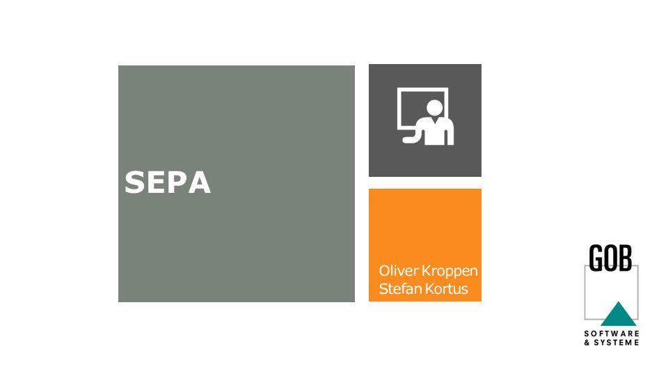 SEPA – Single Euro Payment Area Vereinfachung des europäischen Zahlungsverkehrs Millionen Unternehmen 20500 Millionen Menschen 80 Milliarden Zahlungen