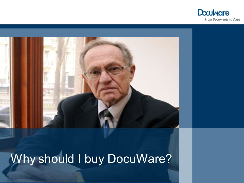 Why should I buy DocuWare?