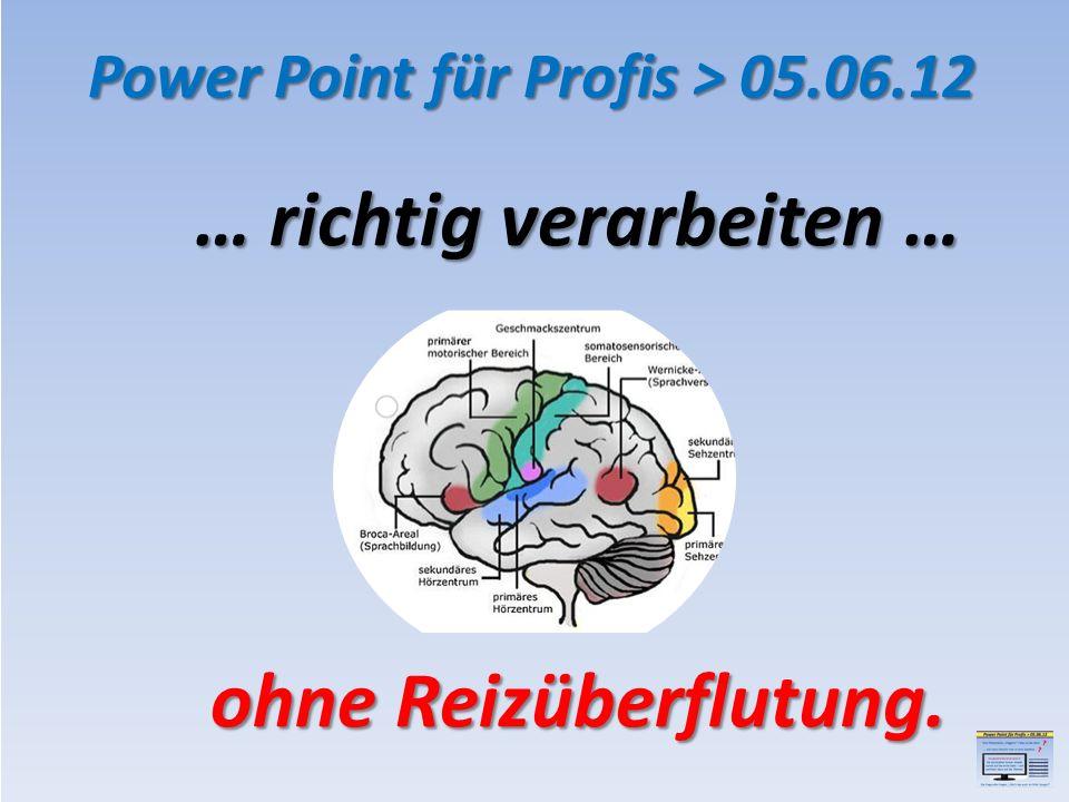 Thema 1 Power Point für Profis > 05.06.12