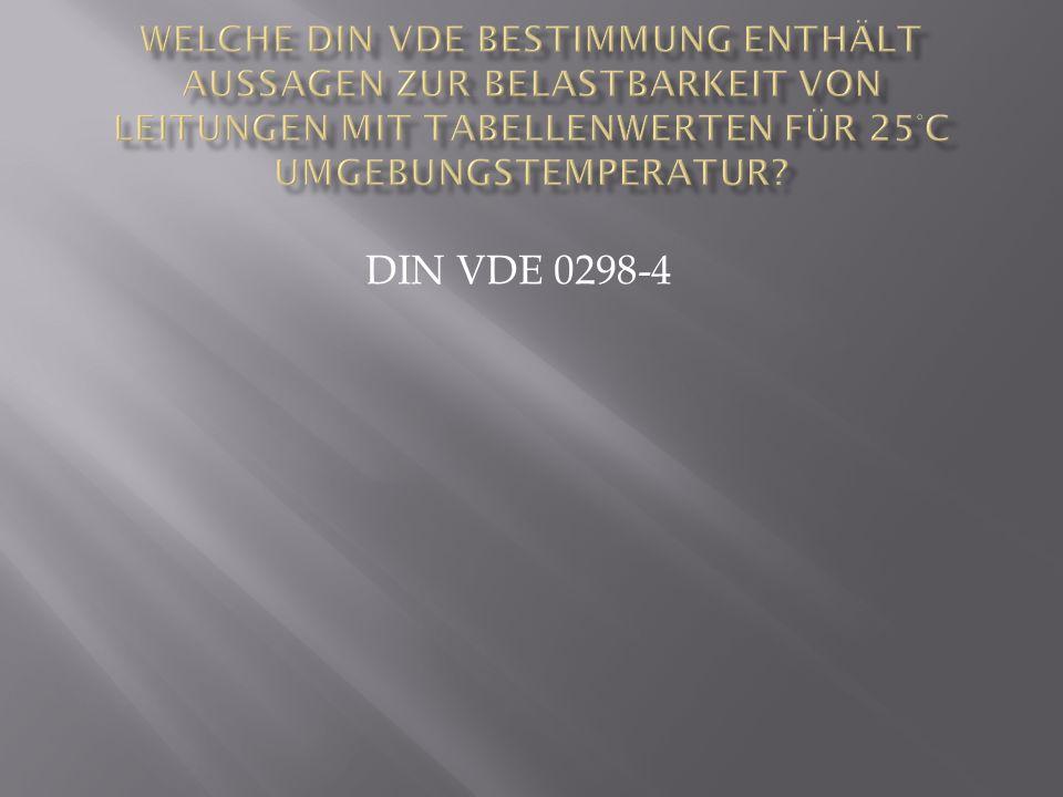 DIN VDE 0298-4