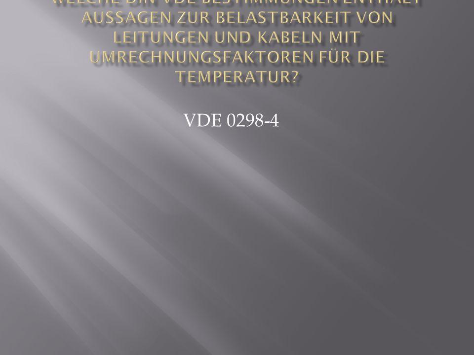 VDE 0298-4
