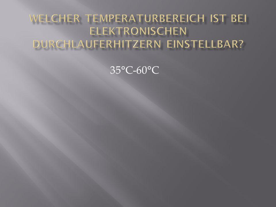 35°C-60°C