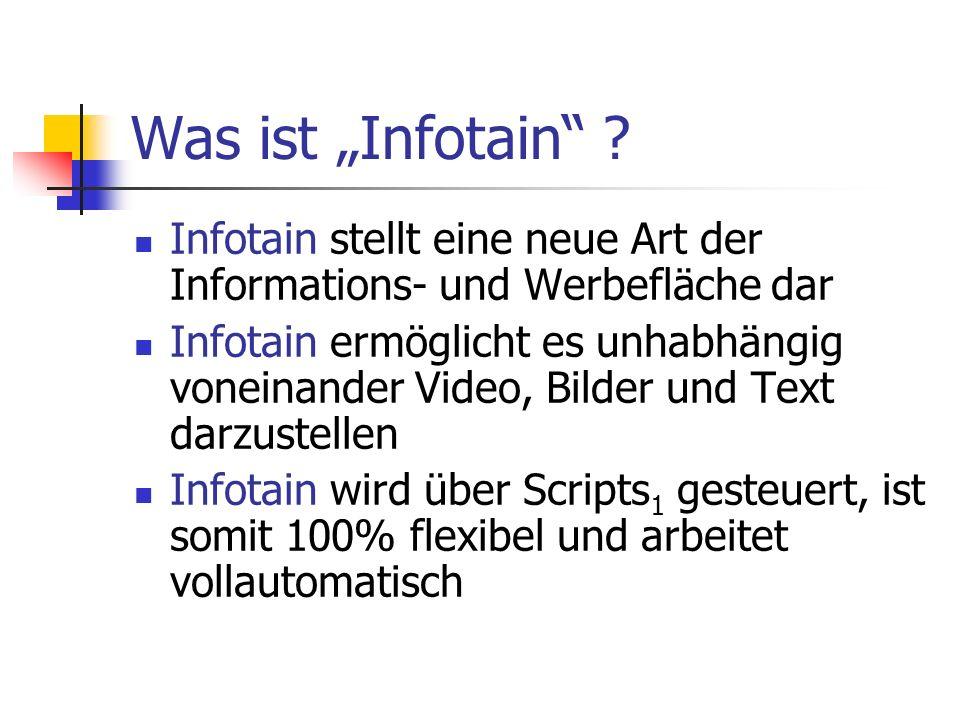 Was ist Infotain .