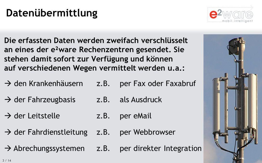 14 / 14 e²ware GmbH Maximilianstr.