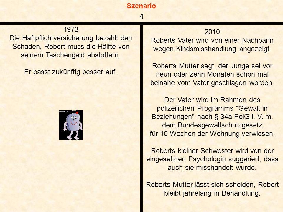Szenario Roberts Mitschüler Ahmed kann wegen mangelnder Deutschkenntnisse dem Unterricht nicht folgen und bleibt schließlich in der 8.