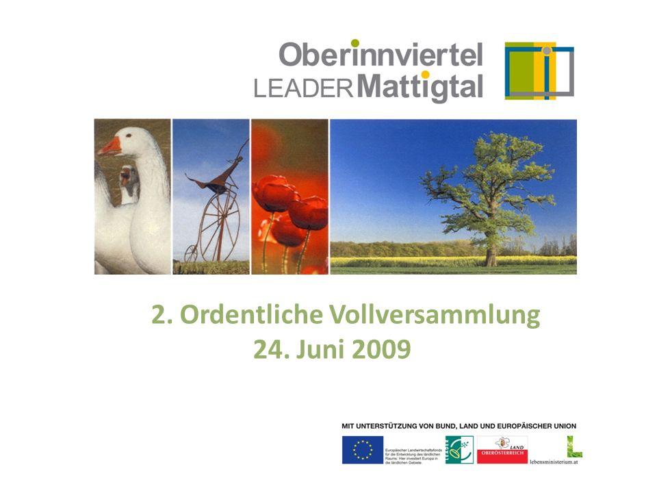 LAG-Vorhaben 2009/2010 Erneuerbare Energie Genuss in und aus der Region Gentechnikfreiheit Interkulturelle Kompetenz