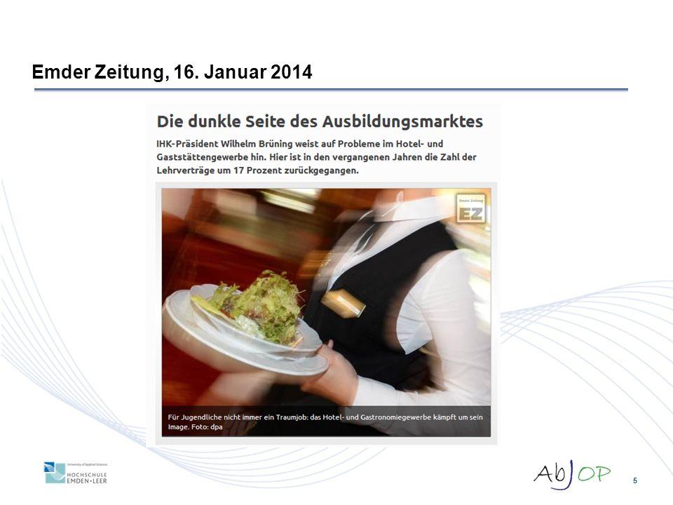 5 Emder Zeitung, 16. Januar 2014