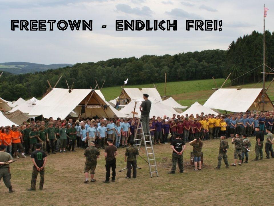 Freetown - endlich frei!