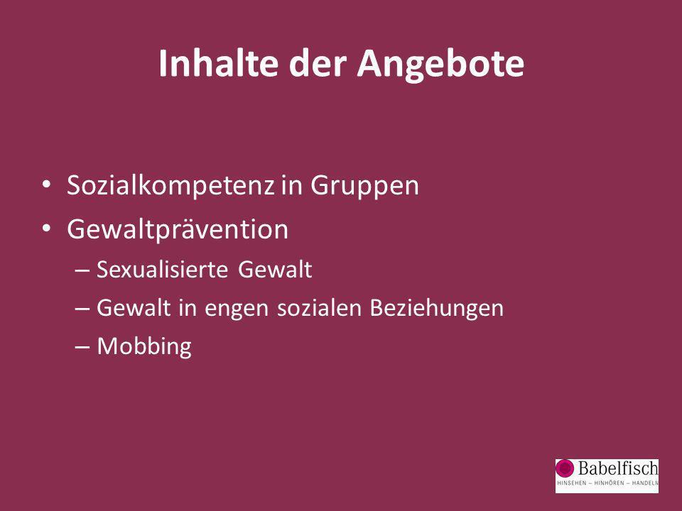 Ganzheitliche Präventionsprojekte Starke Mädchen – Starke Jungs.