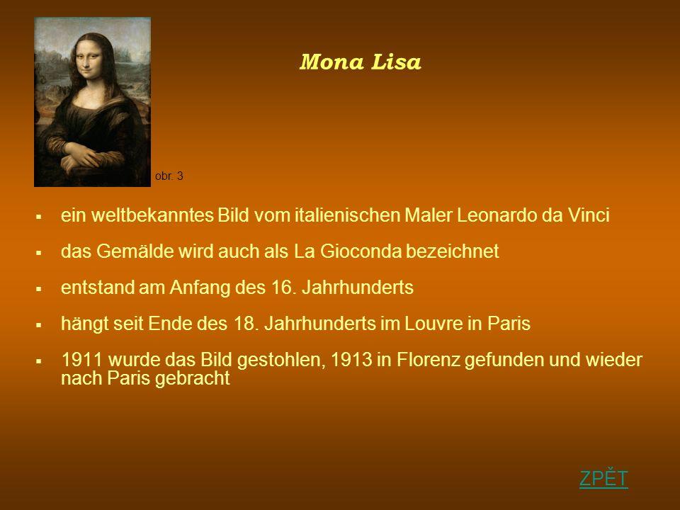 Mona Lisa ein weltbekanntes Bild vom italienischen Maler Leonardo da Vinci das Gemälde wird auch als La Gioconda bezeichnet entstand am Anfang des 16.
