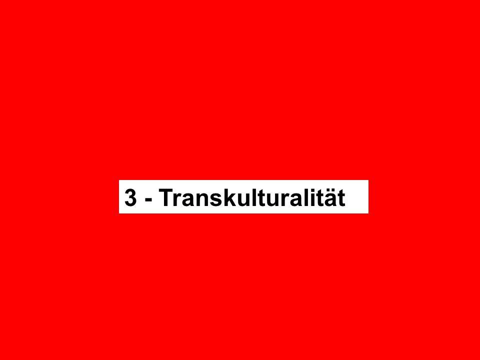 3 - Transkulturalität