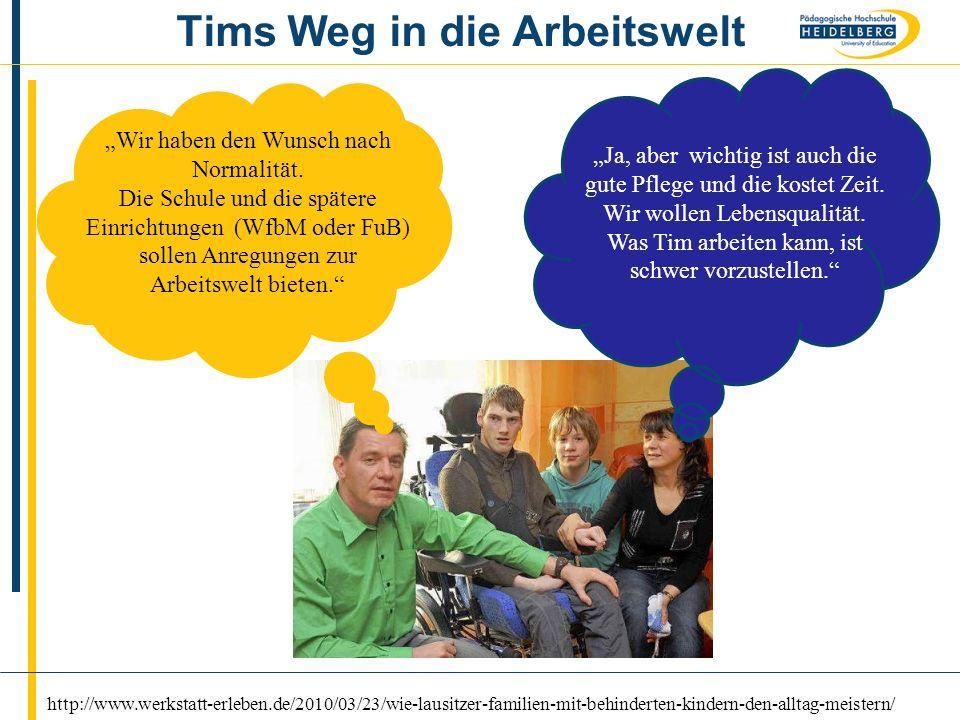 Name8 Tims Weg in die Arbeitswelt http://www.werkstatt-erleben.de/2010/03/23/wie-lausitzer-familien-mit-behinderten-kindern-den-alltag-meistern/ Wir h