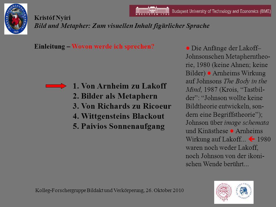Kolleg-Forschergruppe Bildakt und Verkörperung, 26.