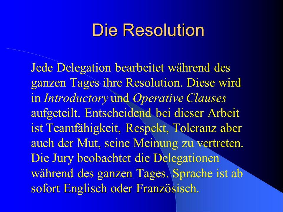 Programm Samstag 6.30 Weckdienst 7.30 Morgenessen 8.30 Committee work 12.00 Lunch 13.00 Committee work 17.00 Schreiben und Abgabe der Resolutionen 18.