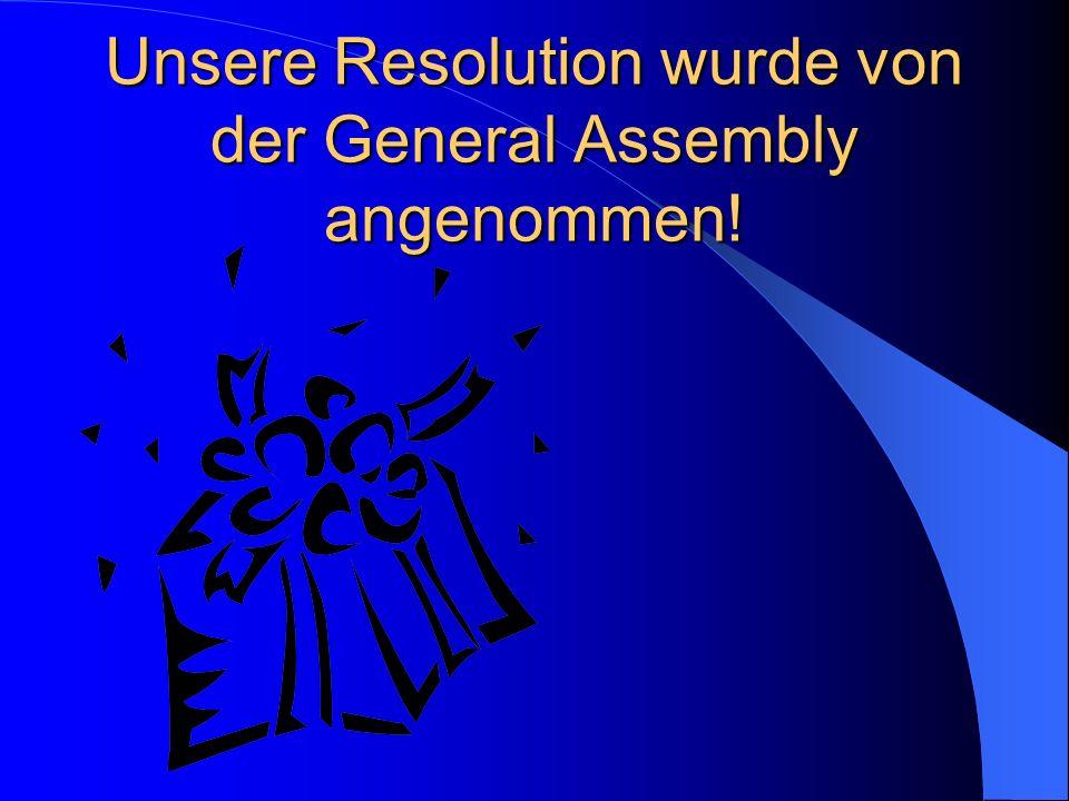 Während der Debatte der Resolutionen der anderen Committees kann eine Attack Speech vorgetragen werden.