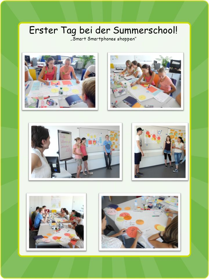 Summerschool 05.08. - 07.08.2013