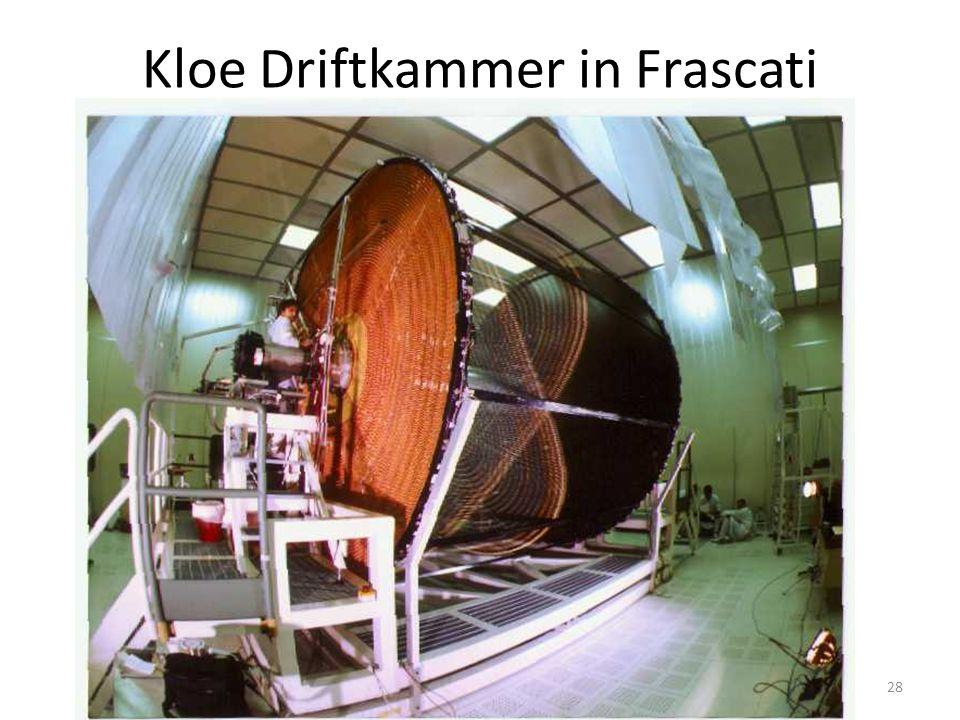 Kloe Driftkammer in Frascati 28