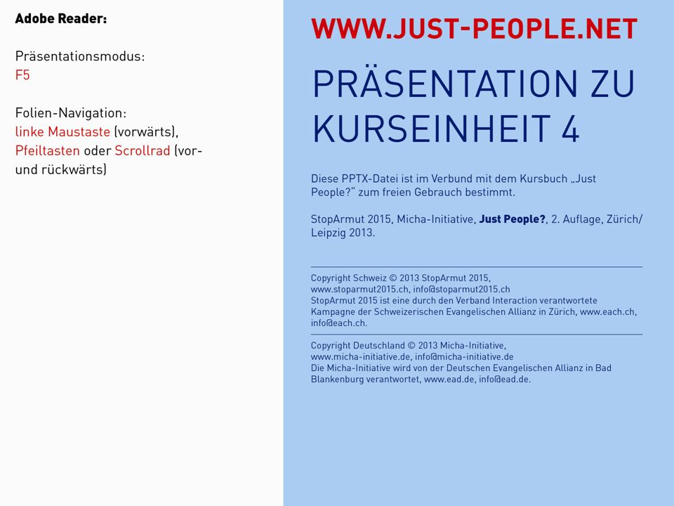 JUST PEOPLE?4: ICH