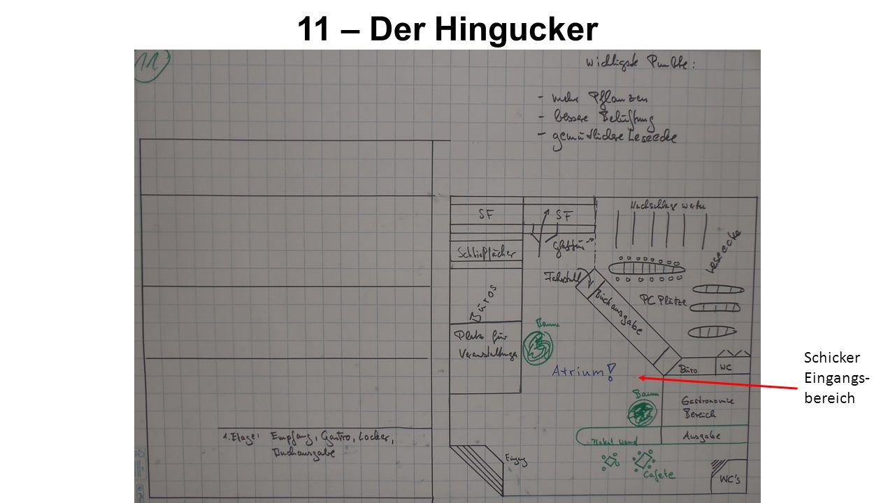 11 – Der Hingucker Schicker Eingangs- bereich