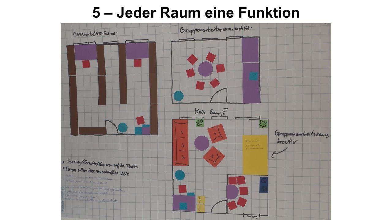 5 – Jeder Raum eine Funktion