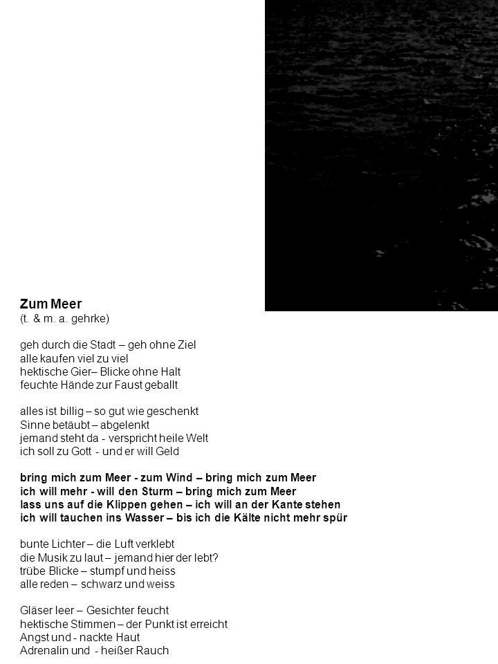 Zum Meer (t.& m. a.