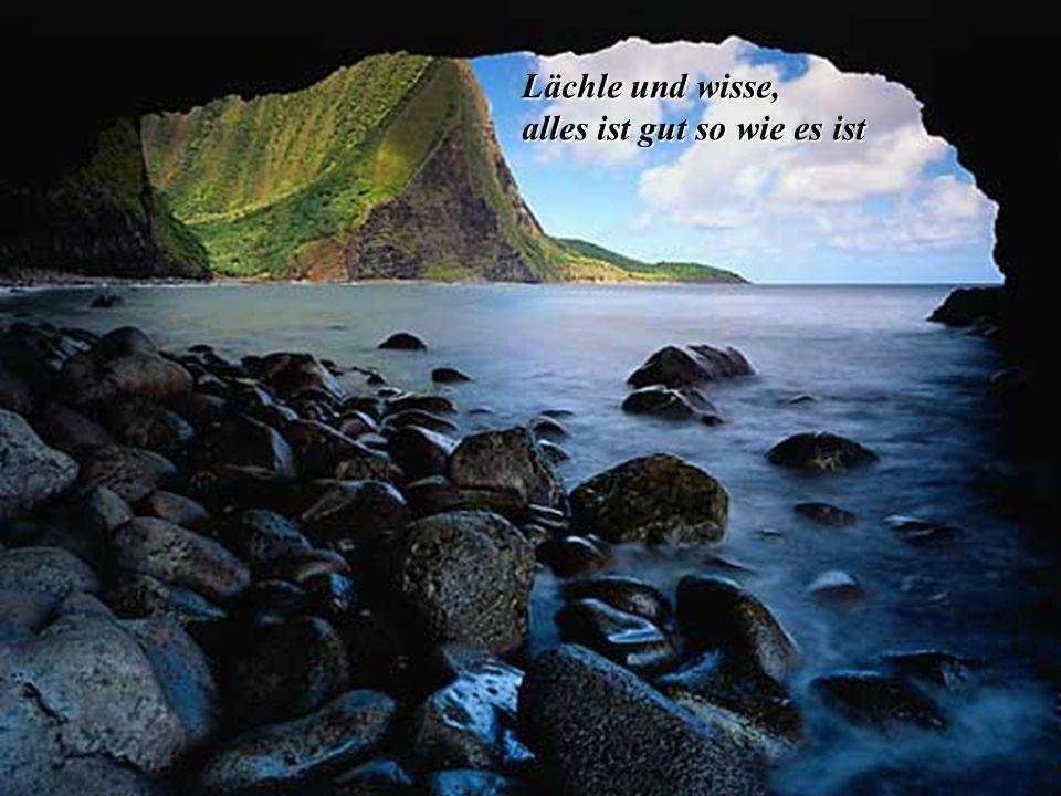 Wenn es einen Glauben gibt, der Berge versetzen kann, dann ist es der Glaube an die eigene Kraft