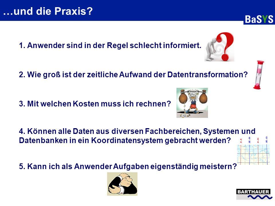 Handhabung in BaSYS und mögliche Tools Die Zonen-Information (z.B.