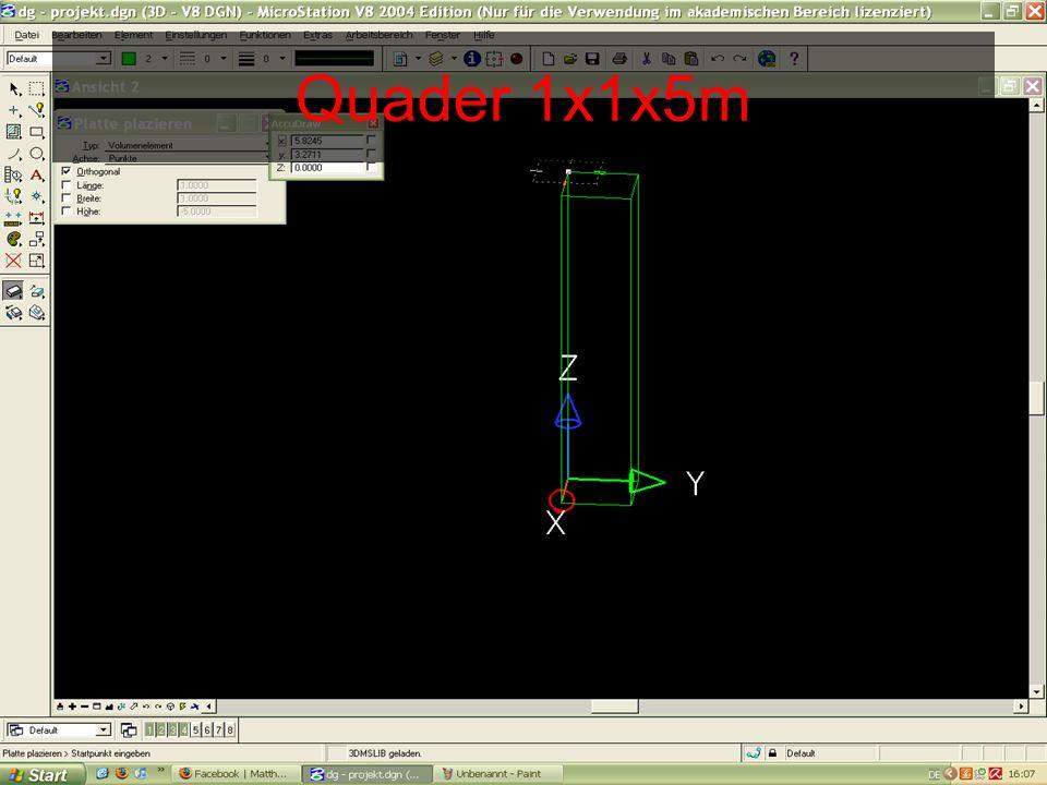 Plattform 7x7x0.15m