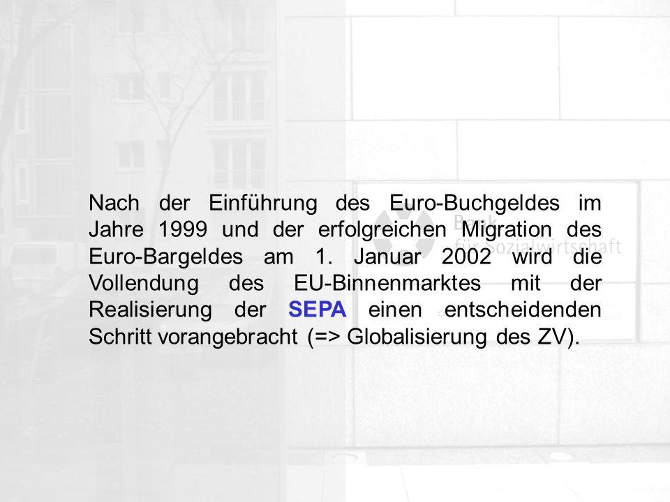 Allgemeine Organisation Was ist SEPA.