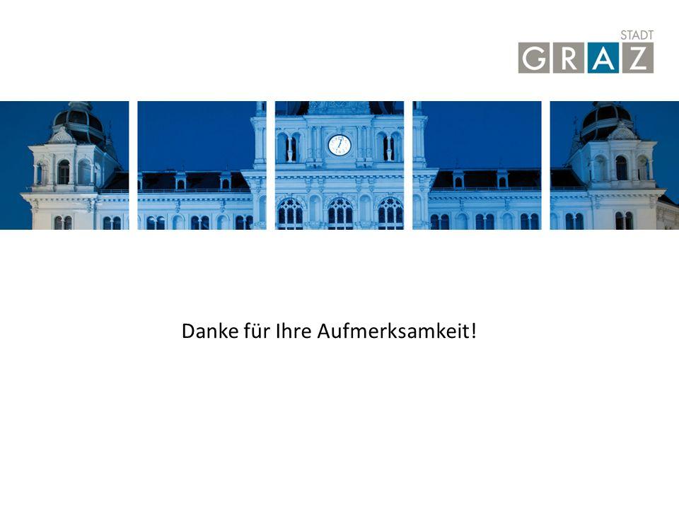 Stadt Graz | Graz-Rathaus | 8010 Danke für Ihre Aufmerksamkeit!