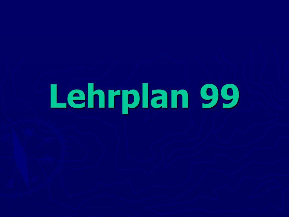 Lehrplan 99