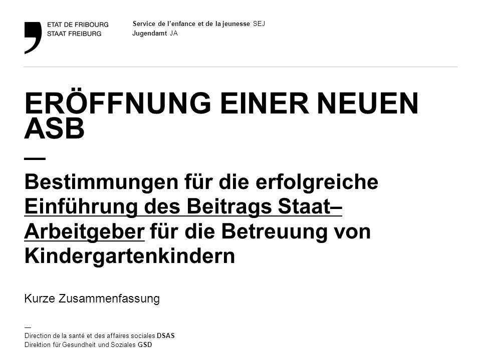 2 Jugendamt JA Grundsätze Mit dem Gesetz vom 9.