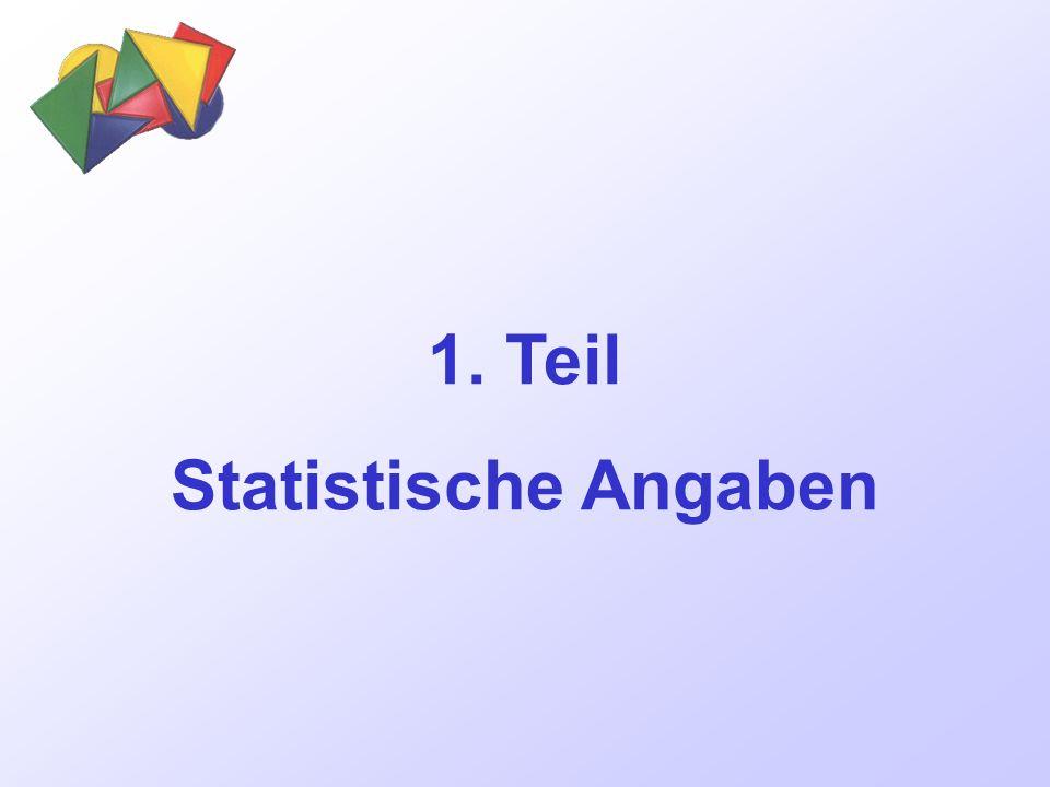 1. Teil Statistische Angaben