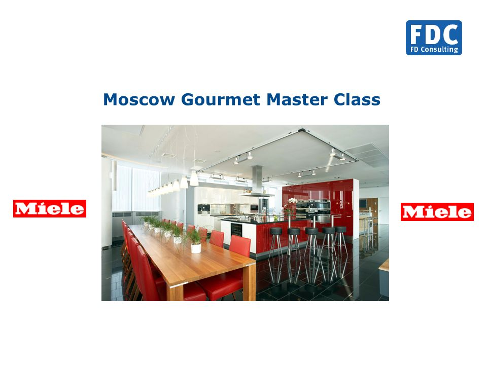 Moscow Gourmet Master Class