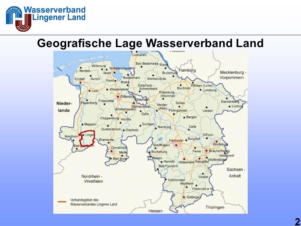 3 Allgemeine Infos zur Kooperation Lingen 2 Wasserversorgungsunternehmen (WVU): - Stadtwerke Lingen GmbH - Wasserverband Lingener Land 3 Wasserschutzgebiete (WSG): - liegen räumlich sehr eng zusammen - Förderrechte für 8,5 Mio.