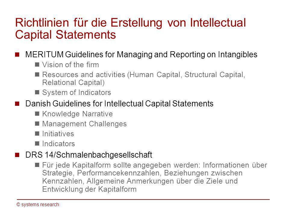 © systems research Veränderte Umfeldbedingungen für Forschungsorganisationen 1.